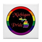 Michigan Pride Tile Coaster