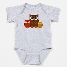 Cute Owls Baby Bodysuit