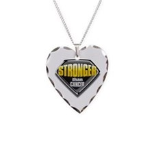 Stronger than cancer Necklace