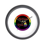 Michigan Pride Wall Clock