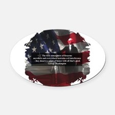 Pro Firarms Oval Car Magnet