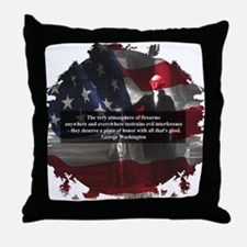 Pro Firarms Throw Pillow