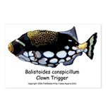 Clown Trigger Postcards (Package of 8)