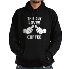 This Guy Loves Coffee Hoodie