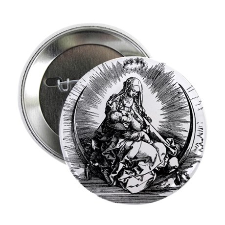 NEW Mary Wood Cut Button