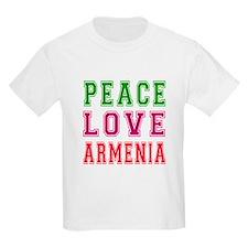 Peace Love Armenia T-Shirt