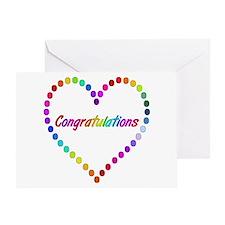 Rainbow Congratulations Greeting Cards