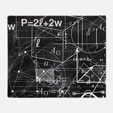 Funny Math is cool Throw Blanket