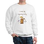 I Love My Country Kitty Sweatshirt