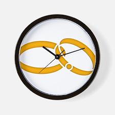 Wedding Rings - Marriage Wall Clock