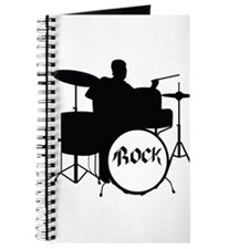Rock Drummer - Musician Journal