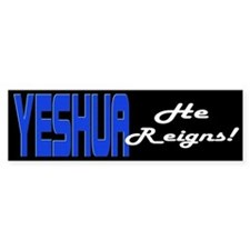 He Reigns! Bumper Bumper Sticker