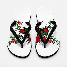 Roses - Nature Flip Flops