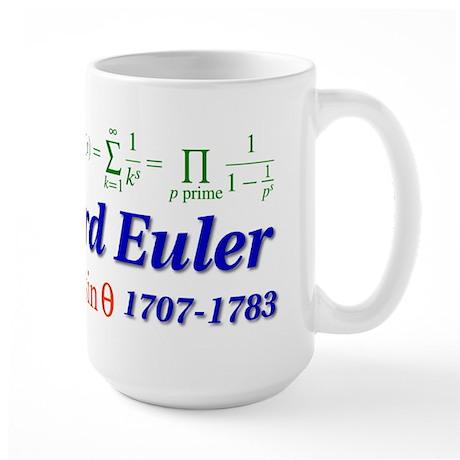 Celebrate Euler Large Mug