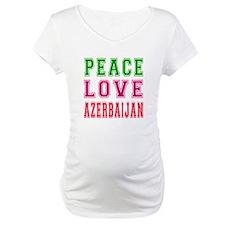 Peace Love Azerbaijan Shirt
