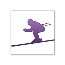 Ski - Winter Sports Sticker