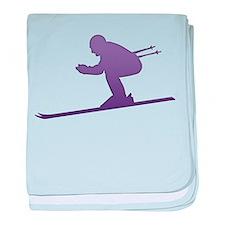 Ski - Winter Sports baby blanket