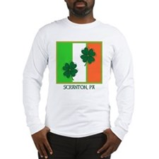 SCRANTON IRISH Long Sleeve T-Shirt