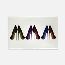 Pretty Shoes All In A Row Magnets