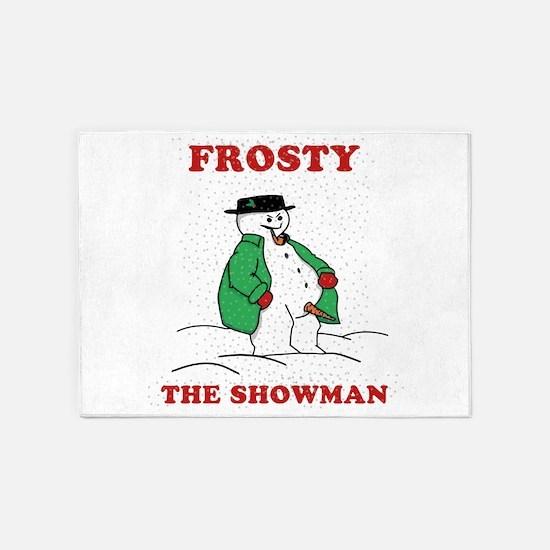 Christmas Showman 5'x7'Area Rug