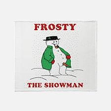 Christmas Showman Throw Blanket