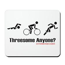 """Threesome Anyone?"" Mousepad"