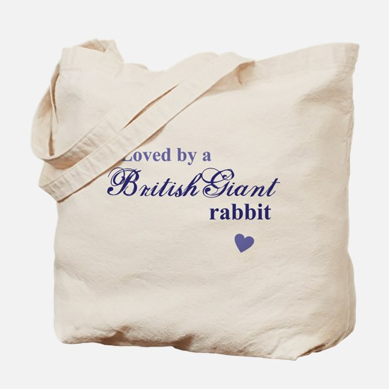 British Giant rabbit Tote Bag