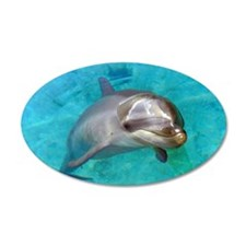 Dolphin Dip Wall Sticker