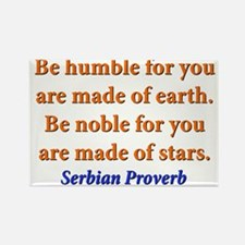 Be Humble - Serbian Rectangle Magnet