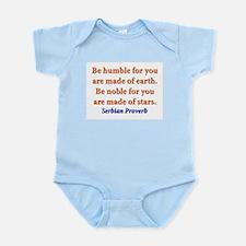 Be Humble - Serbian Infant Bodysuit