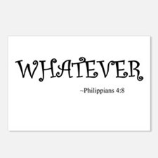 Whatever Postcards (Package of 8)