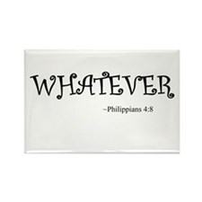 Whatever Rectangle Magnet (10 pack)