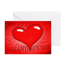 """Just Hearts"" Greeting Cards (Pk of 10)"