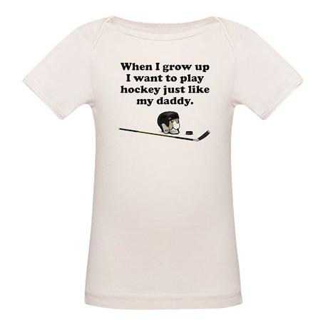 Play Hockey Like My Daddy T-Shirt