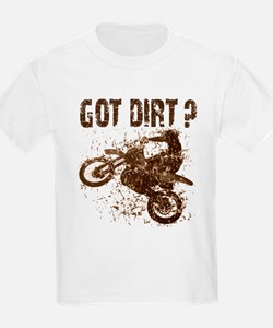 Motorcycle, dirt bike. Got Dirt? MX Kids T-Shirt