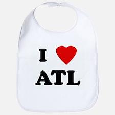 I Love ATL Bib