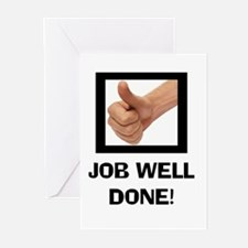 JOB WELL DONE Greeting Cards (Pk of 10)
