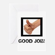 GOOD JOB Greeting Cards (Pk of 10)