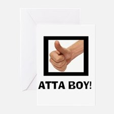ATTA BOY! Greeting Cards (Pk of 10)