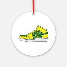 Sneaker - Shoe Ornament (Round)