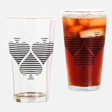 Spades - Poker Drinking Glass