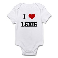 I Love LEXIE Infant Bodysuit