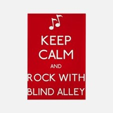 Keep Calm Blind Alley Rectangle Magnet