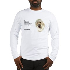 Labradoodle Love 1 Long Sleeve T-Shirt