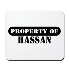Property of Hassan Mousepad