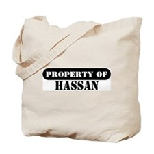 Property of Hassan Tote Bag