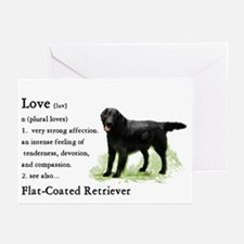 Flat-Coated Retriever Greeting Cards (Pk of 10)