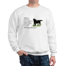 Flat-Coated Retriever Sweatshirt