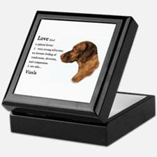 Vizsla Love Is Keepsake Box