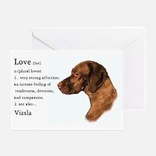 Vizsla Love Is Greeting Cards (Pk of 10)
